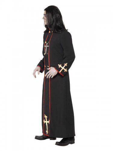 Halloween Kruis.Demonische Monnik Kostuum Voor Heren Halloween Outfit In