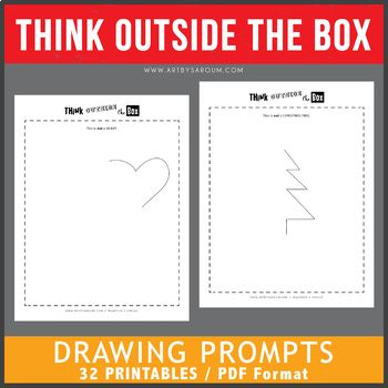 Think Outside The Box Drawing Prompts Original With Images