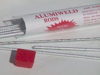 """Ultrafuse Aluminum Repair 1 LB 25 rods 18/"""" long Free Fast Shipping"""