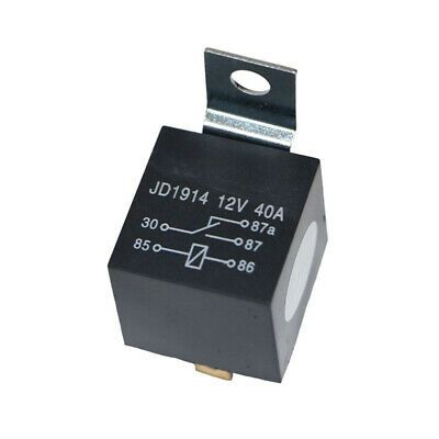 Ad Ebay Url 5 Pack 12v 30 40 Amp 5 Pin Spdt Automotive Relay With Wires Harness Socket Set Socket Set Sound System Car Relay