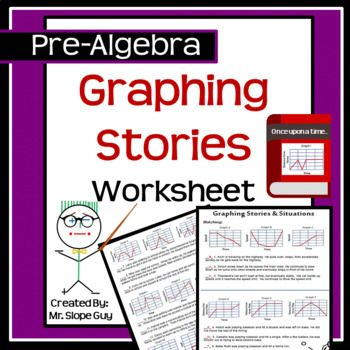 Graphing Stories And Situations Worksheet Activity Graphing