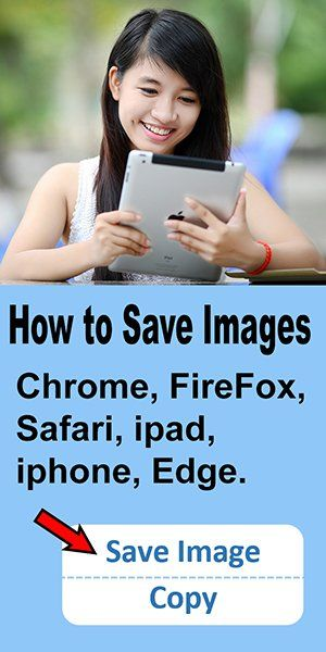 How to Save Images (PNG, SVG, JPEG) – iphone, iPad, Chrome