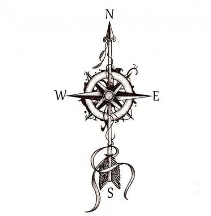 Tattoo Compass Drawing Design Art 19 Ideas Drawing Tattoo
