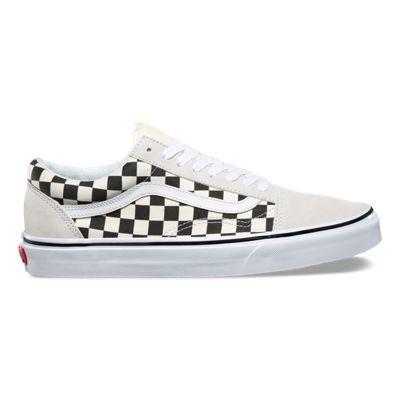 vans old skool checkerboard femme