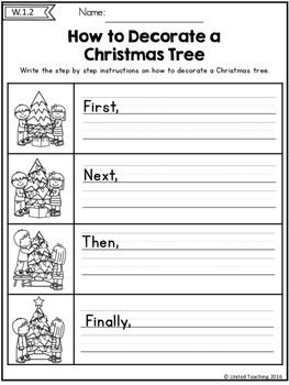 Homeschool Kindergarten, Kindergarten Writing, Writing Activities, Literacy, Preschool, Christmas Worksheets, Christmas Activities, Christmas Writing, First Grade Writing