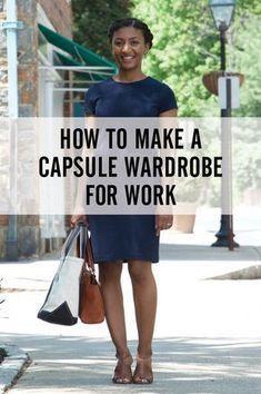 39a55493a Dress Like a Boss | Capsule Wardrobe and Closet Organization | Work  fashion, Small wardrobe und Work wear