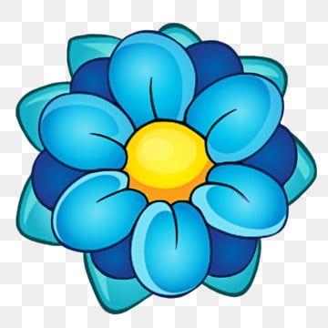 Elemento Decorativo Planta Flores Azules Dibujos Animados Planta Azul La Flor Png Y Psd Para Descargar Gratis Pngtree Bunga Bunga Biru Ilustrasi Bunga