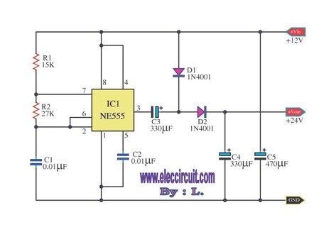 Awe Inspiring 555 Dc Boost Converter Circuits Ggggg Circuit Electronics Diagram Wiring Database Aboleterrageneticorg