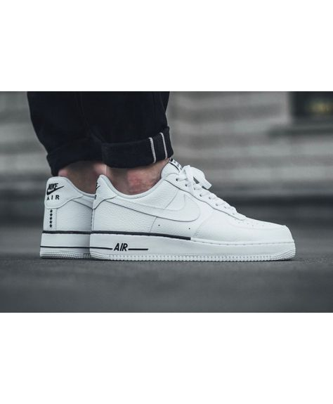 shoes for cheap best prices new product Nike Air Force 1 Homme Blanc Noir   Nike air force ...