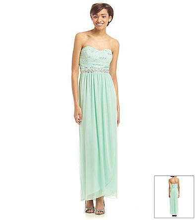 A. Byer Lace And Sequin Dress | Carson\'s | Prom Dresses | Pinterest ...