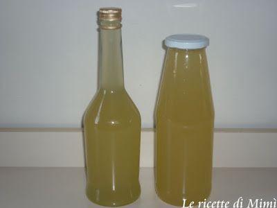 Limonata fatta in casa (sciroppo)