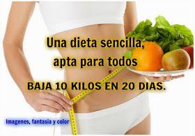 dieta 10 kilos 20 dias
