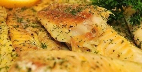 Mouth-Watering Garlic Baked Fish-sub soy sauce and vegetable oil with coconut aminos and olive oil