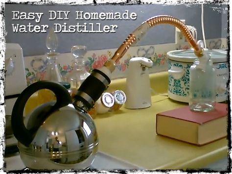 Awesome DIY Homemade Water Distiller [VIDEO]