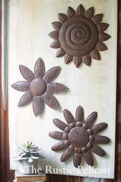 For Sale Industrial Wall Art Flowers Metal Wall Decor Metal Flowers Large Wall Flowers Large Flowers R Farmhouse Wall Art Flower Wall Metal Wall Flowers