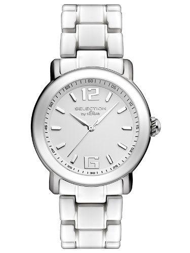 s.Oliver Damen-Armbanduhr Analog Quarz Keramik SO-2539-CQ