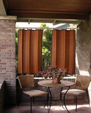 Bamboo Ring Top Panels Outdoor Space Design Bamboo Panels