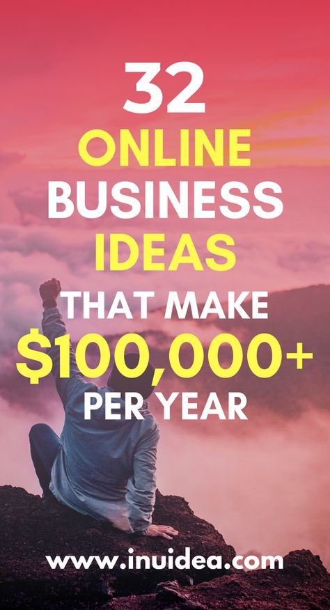 32 Online Business Ideas That Make $100,000 Per YEAR