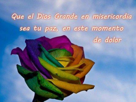 Imágenes Cristianas De Consuelo Por La Muerte De Un Ser Querido Frases De Consuelo Mensajes De Condolencias Oraciones De Consuelo