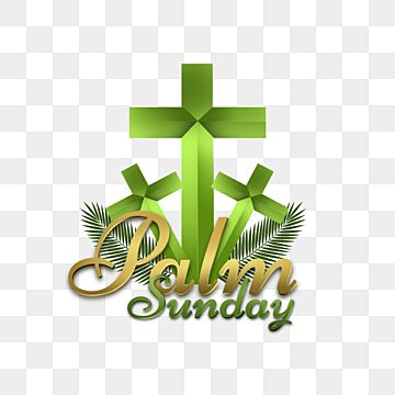 Cross And Palm Leaf Graphic Element For Sunday Crosses Leaves Palm Png Transparent Clipart Image And Psd File For Free Download Palm Sunday Clip Art Christian Palm Sunday