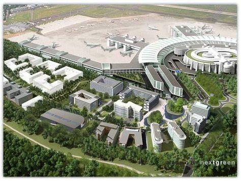 AirportCity Duesseldorf-nextgreen Designagentur