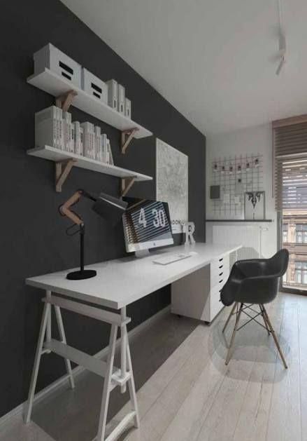 18 Trendy Home Office Quarto Preto Home Home Office Design