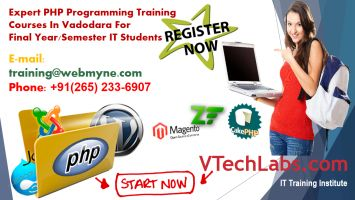 Php Certified Course In Vadodara Web Development Training Vadodara Train
