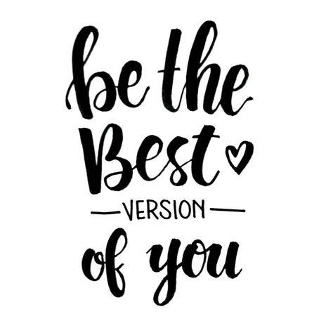 Be the #best version of you ♡♥♡♡ #ApsiLetters #brushlettering #brushcalligraphy @tombowusa #tombow #tombowusa #positive #positivevibes…