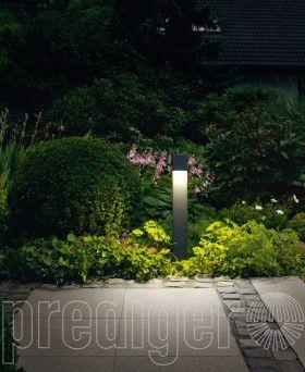 Abgeblendete Garten Und Wegeleuchten Mit Aufschraubsockel Led Bega Prediger Beleuchtung Garten Garten Garten Design