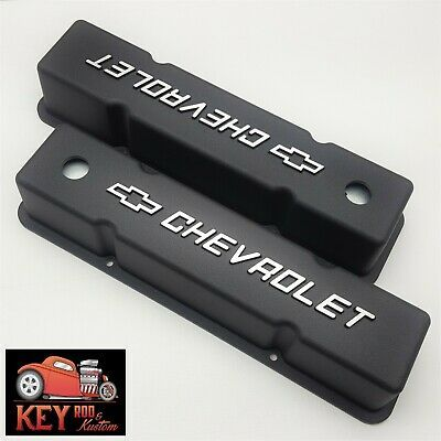 Details About Small Block Chevy Black Aluminum 383 Stroker Logo