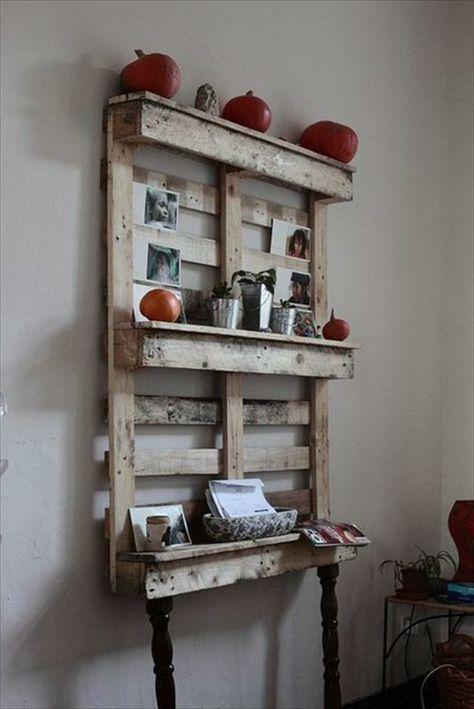 Regal aus Paletten 51 Budget-freundliche DIY Ideen - küchenregal selber bauen