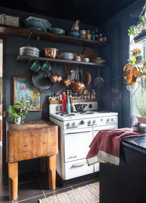 34 Inspirational Eclectic Kitchen Design Ideas Mit Bildern