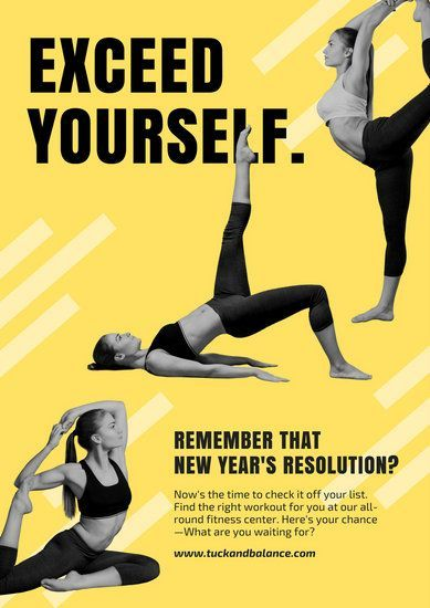 Yellow And Monochrome Yoga Gym Poster Tap The Pin If You Love Super Heroes Too Yellow And Monochrome Yoga Gym P Yoga Poster Design Gym Poster Workout Posters