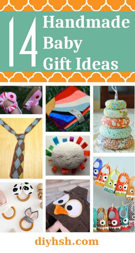 Handmade Christmas Gifts for Baby #DIYHSH #DIY #HandmadeBaby