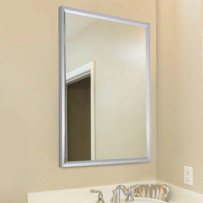 Wrought Studio Kleankin 24 L X 32 W Framed Wall Mounted Bathroom