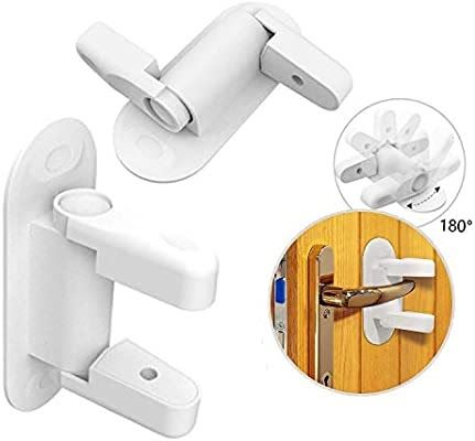 Child Proof Faucet Locks Door Lever Locks For Baby Proofing 2 Pack Child Proof Child Proof Water C In 2020 Shower Faucet Repair Tub And Shower Faucets Faucet Handles