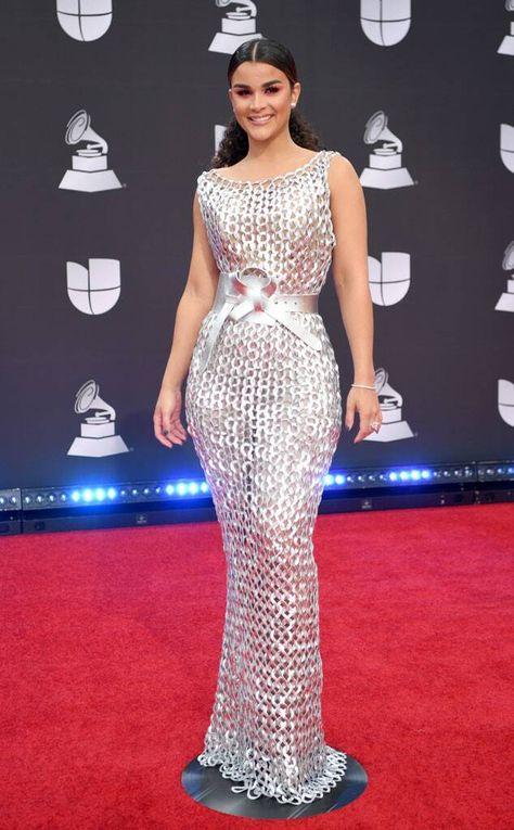 Clarissa Molina from Latin Grammy Awards Red Carpet Fashion