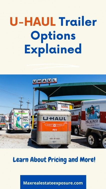 U Haul S Rental Prices Explained How Much Does A U Haul Cost Real Estate Education Real Estate Tips Real Estate Information