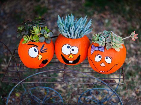 Unique Halloween Pumpkin Decorating Ideas Pumpkin Decorating