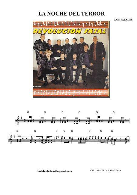 La Noche Del Terror Los Fatales Letras Y Acordes Andy Gibb Noche