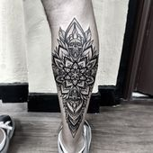 Stylekleidung.com ▷▷ +207 Tatuajes mandalas 【EN LA PIERNA】(Hombre - Mujer)