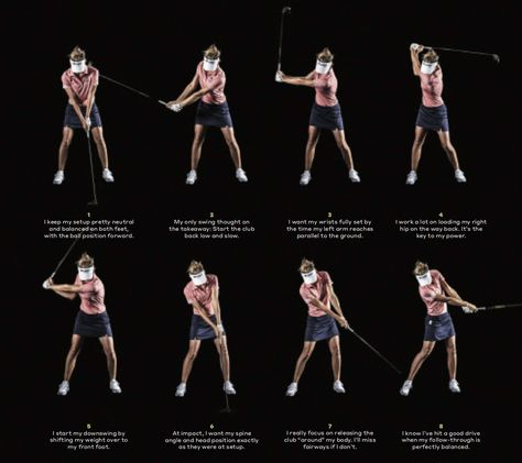 Anne van Dam explains her silky-smooth swing in 8 steps Find the best golf push cart for your golfing game Girls Golf, Ladies Golf, Golf Chipping Tips, Golf Stance, Golf Score, Golf Instruction, Golf Exercises, Golf Tips For Beginners, Perfect Golf