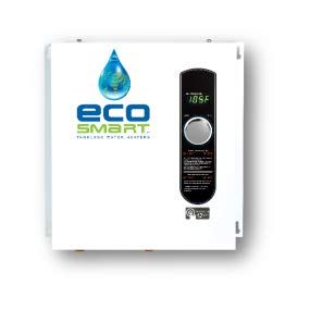 Ecosmart Eco 11 Electric Tankless Water Heater 13kw At 240 Volts With Patented Self Modulating Techno Tankless Water Heater Electric Water Heater Water Heater