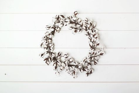 Cotton Wreath | The Magnolia Market
