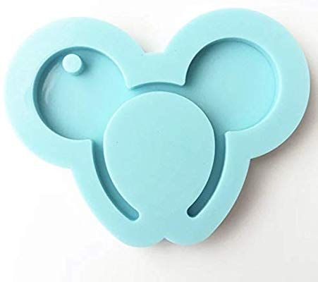 Hairband Mouse Silicone Mold Keychains Resin Epox Jewelry Pendant Mould Small