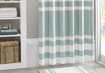 Shop Beautiful Bathroom Styles Long Shower Curtains Extra Long