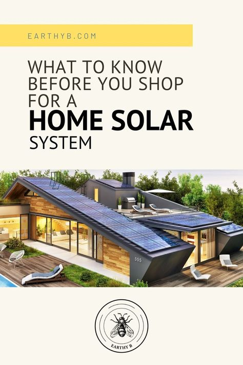 What to know before you shop for a home solar power system