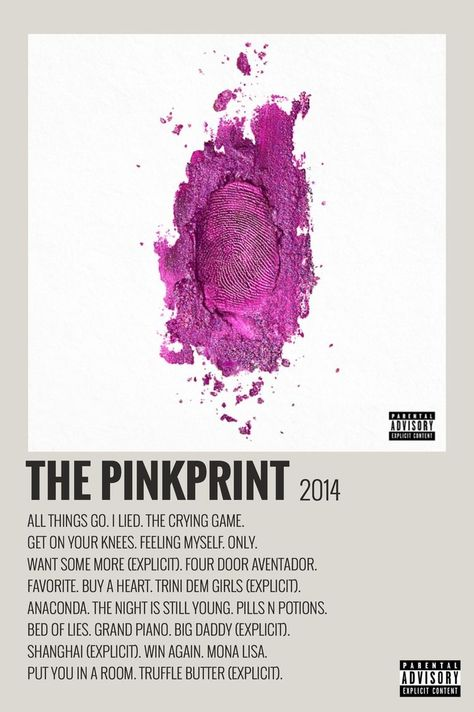 The PinkPrint by Maja