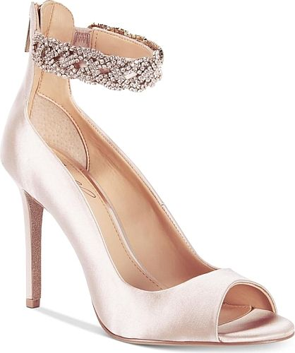 c5410cf8ee41 Jewel Badgley Mischka Women s Shoes in Champagne Satin Color. Jewel by Badgley  Mischka Alanis Shoes Women s Shoes