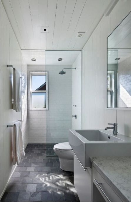 47 Small Bathroom Ideas With Images Small Narrow Bathroom Long Narrow Bathroom Narrow Bathroom